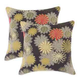 Petal Faster Marooned 17-inch Throw Pillows (Set of 2)