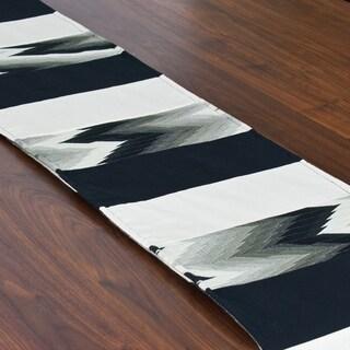 Coram Ebony 12.5 x 71-inch Pieced Table Runner