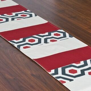 Magna Timberwolf 12.5 x 71-inch Pieced Table Runner