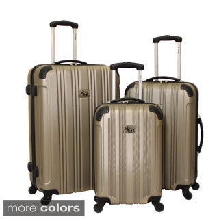 Chariot Modena 3-piece Hardside Lightweight Upright Spinner Luggage Set