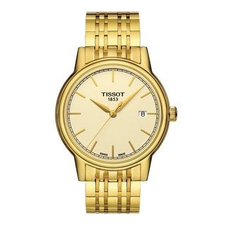 Tissot Men's T0854103302100 'Carson' Yellow Gold PVD Stainless Steel Watch