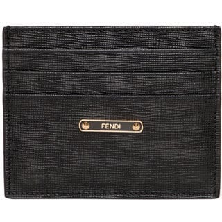 Fendi Crayons Saffiano Leather Card Case