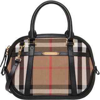 Burberry Small Bridle House Check Orchard Satchel