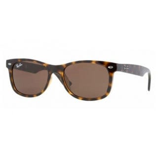 Ray-Ban Junior 'RJ9052S' Brown Havana Wayfarer Sunglasses