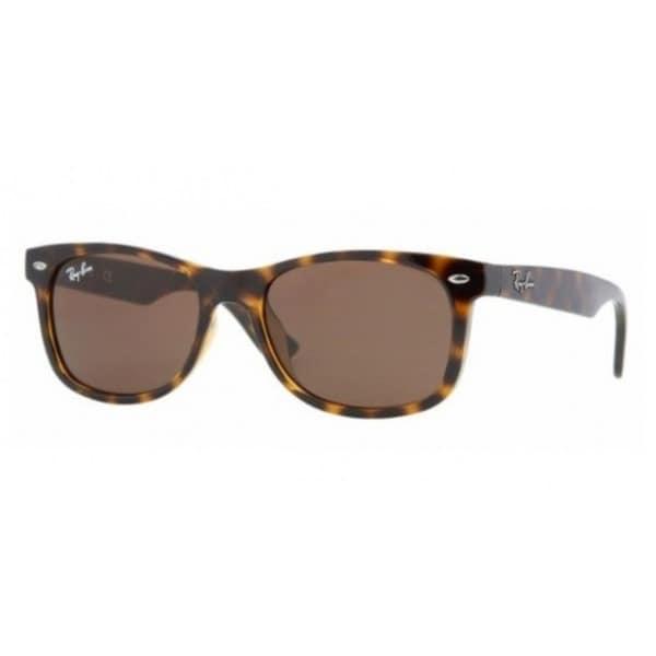 Ray-Ban Junior 'RJ9052S' Brown Havana Wayfarer Sunglasses