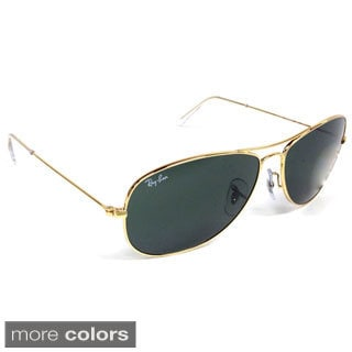 Ray-Ban Men's 'Cockpit' RB3362 Metal Aviator Sunglasses