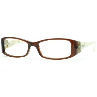 Vogue Women's 'VO2595B' Brown Rectangle Optical Frame Eyeglasses