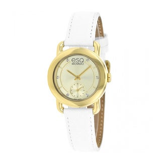 ESQ by Movado Women's 7101448 Classica Gold Tone Watch