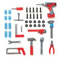 Discovery Kids 40-piece Power Tool Set