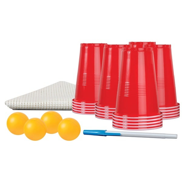 Black Series 30-piece Beer Pong Party Kit