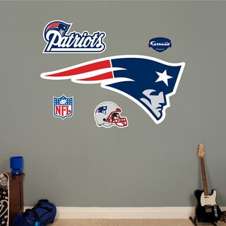 Fathead New England Patriots Logo Wall Decal