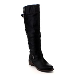 Anna Women's 'ENY-12' Stud Knee-high Riding Boots