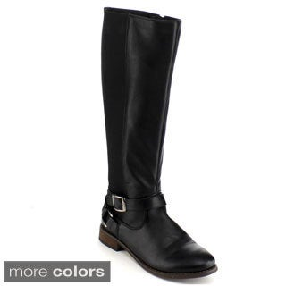 Blossom Women's 'Jayne-13' Knee-high Riding Boots