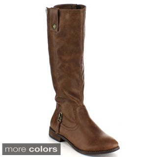 Blossom Women's 'Jayne-11' Knee High Riding Boots