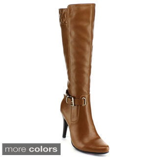 Blossom Women's 'Dubai-19' Knee-high Stiletto Boots