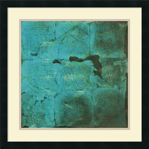 Renee W. Stramel 'Shattered Expectations IV' Framed Art Print 25 x 25-inch