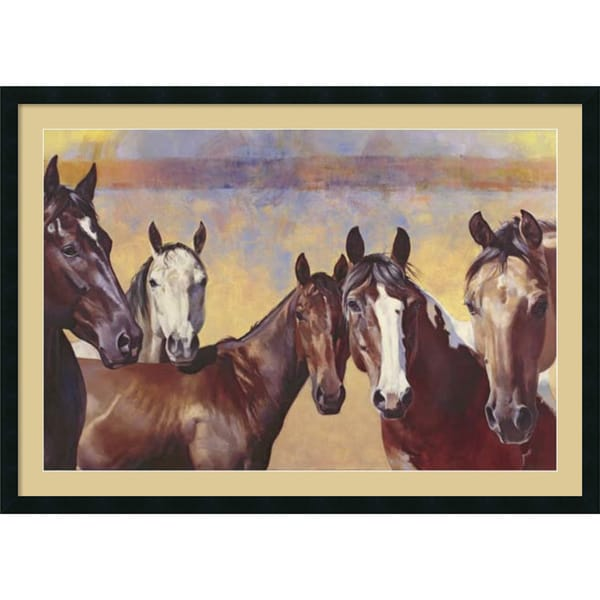 Julie Chapman 'The Boys' Framed Art Print 42 x 30-inch