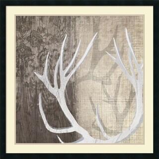 Tandi Venter 'Deer Lodge I' Framed Art Print 34 x 34-inch
