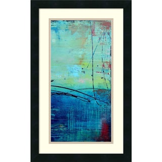 Erin Ashley 'Venice Beach II' Framed Art Print 15 x 24-inch