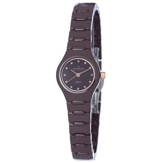 Skagen Women's 816XSDXC1 Denmark Brown Watch