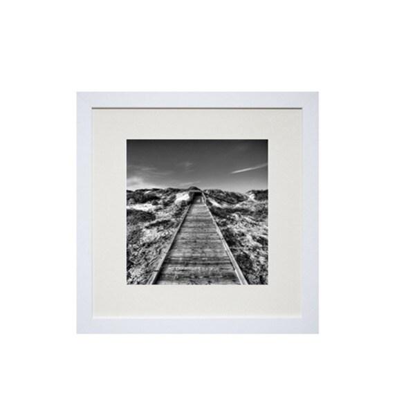 Robert Jones 'Into the Sand' Framed Art Print