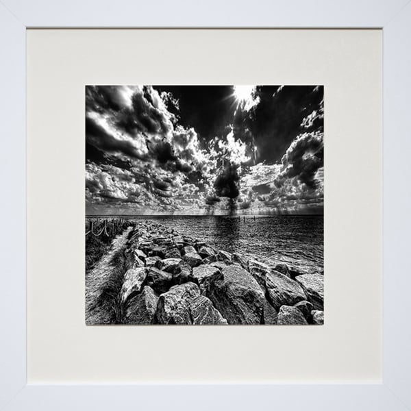 Robert Jones 'Approaching the End' Framed Art Print