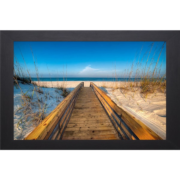 Robert Jones 'Approaching the Sea' Framed Art Print
