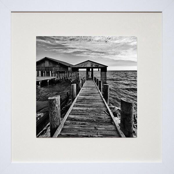 Robert Jones 'Across the Field' Framed Art Print
