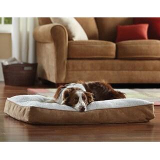 "Animal Planet 30"" Memory Foam Rectangle Pet Bed"