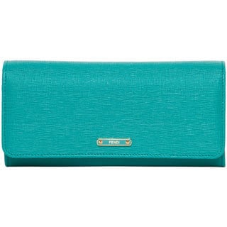 Fendi Vitello Elite Leather Continental Wallet