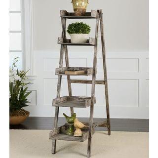 Uttermost Annileise Ladder Bookshelf