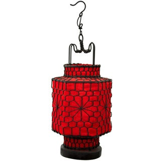 Red/ Black Traditional Chinese Lantern (China)