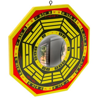Wooden Concave Bagua Mirror (China)