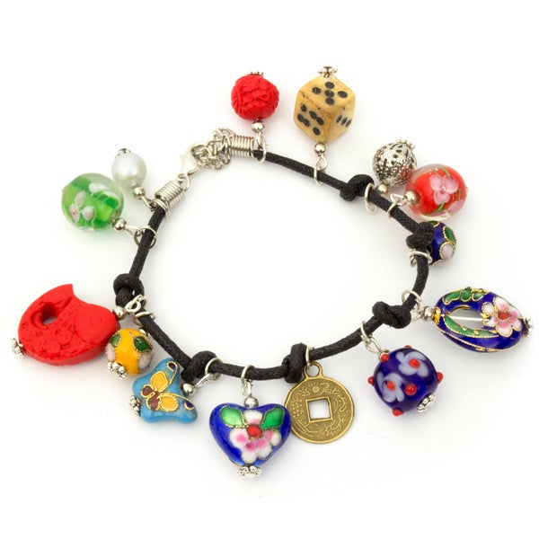Lucky Multi-charm Bracelet (China)