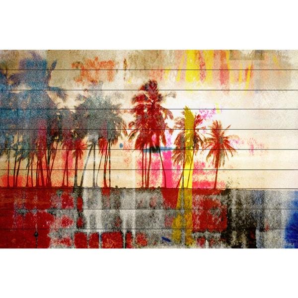 Parvez Taj 'Abbott Kinney' Fine Art Print