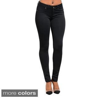 Stanzino Women's Solid Skinny Jeans