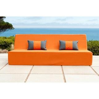 Softblock Lowboy Orange Indoor/ Outdoor Sofa
