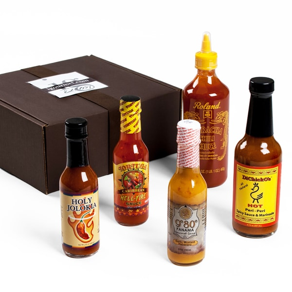 Hot Sauce Lover's Gift Box