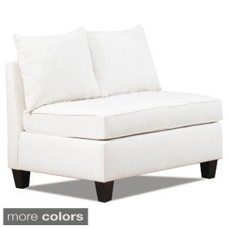 Belle Meade Natural Armless Loveseat