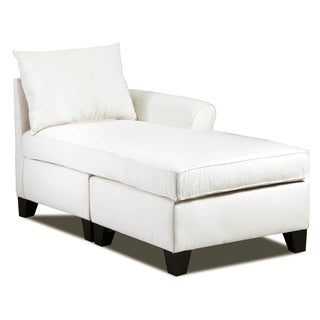Christopher knight home finlay fabric chaise lounge for Abbyson living soho cream fabric chaise