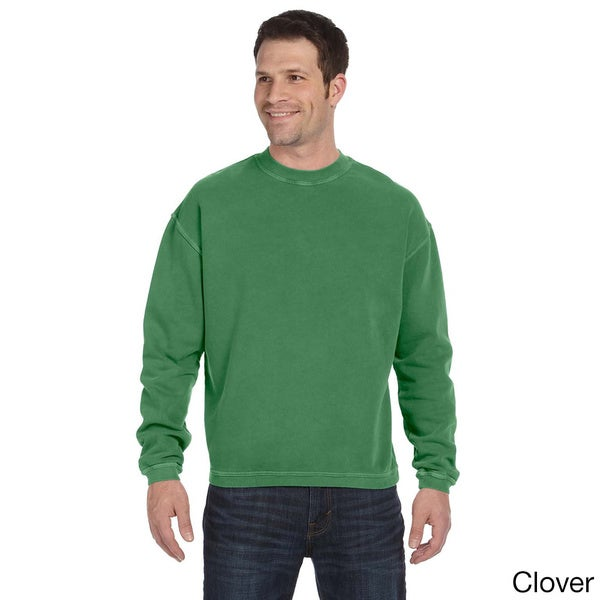 Men's Pigment-dyed Ringspun Cotton Fleece Crew 13398774