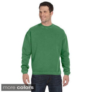 Men's Pigment-dyed Ringspun Cotton Fleece Crew
