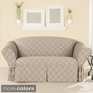 Sure Fit Durham One-piece Loveseat Slipcover