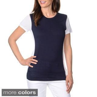 Harve Benard Women's Colorblock Knit T-shirt