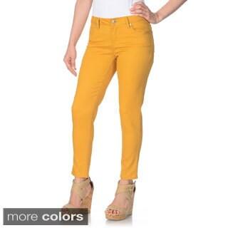 ABS by Allen Schwartz Women's Colorful Stretch Skinny Jeans