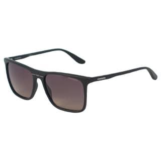 Carrera Men's 6012/S DL5R4 Matte Black Rectangle Sunglasses