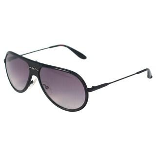 Carrera Unisex 89/S GVBEU Shiny Black Aviator Sunglasses