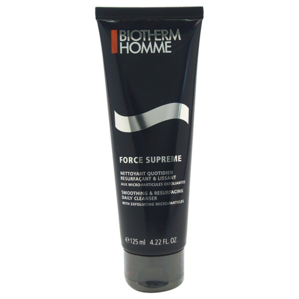 Biotherm Men's Force Supreme Smoothing and Resurfacing 4.22-ounce Daily Cleanser