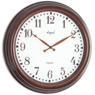 Opal Metal Finish Case Clock