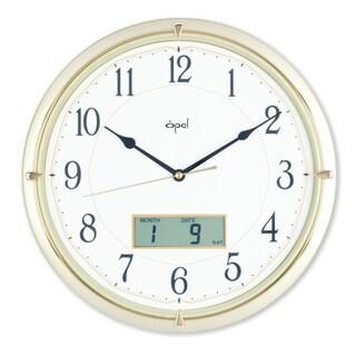 Opal Champagne Ana-digi Clock